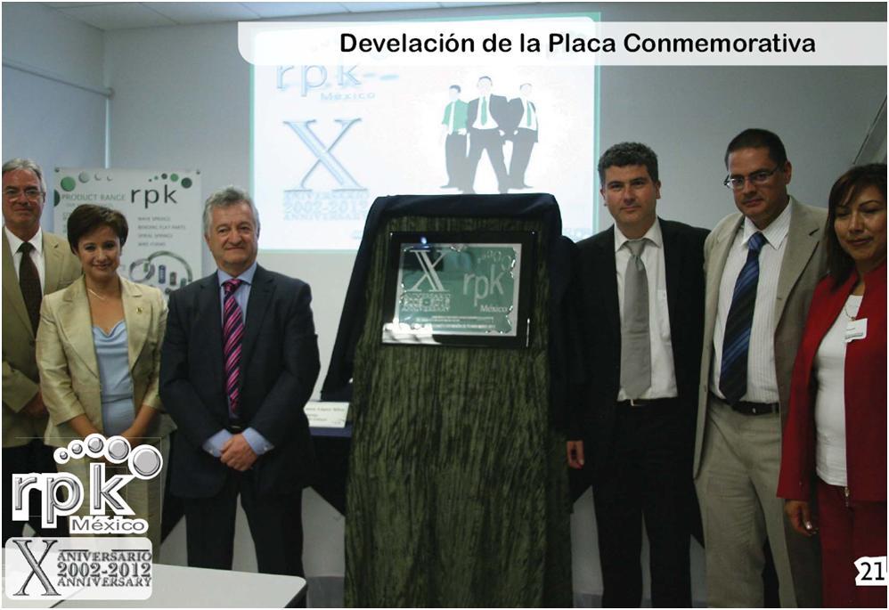 X Aniversario RPK Mexico